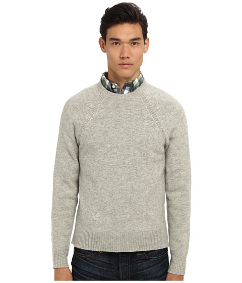 Jack Spade - Spencer Crewneck Sweater (Light Grey) Men