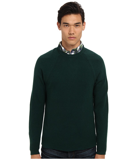 Jack Spade - Spencer Crewneck Sweater (Forest) Men