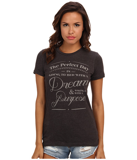 Delivering Happiness - Perfect Day Tee (Ash) Women