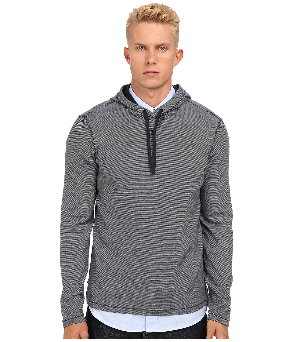 Jack Spade - Matthews Hooded T-Shirt (Navy) Men