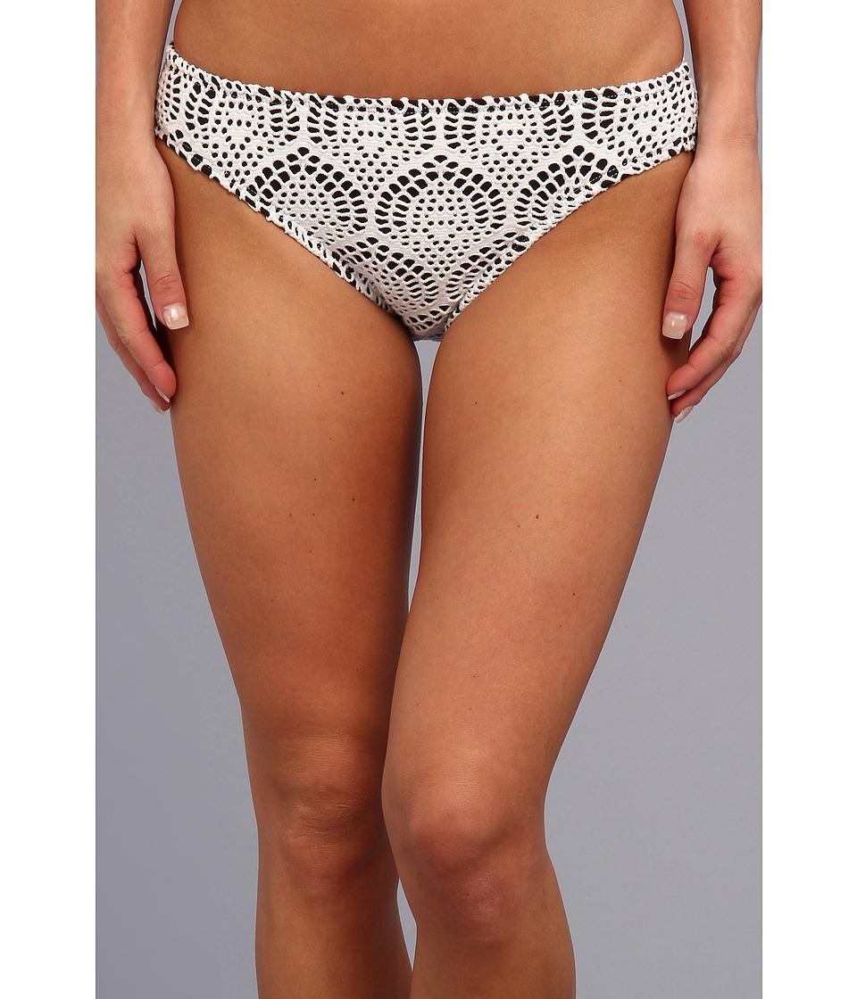 La Blanca - Crochet Hipster (White) Women's Swimwear