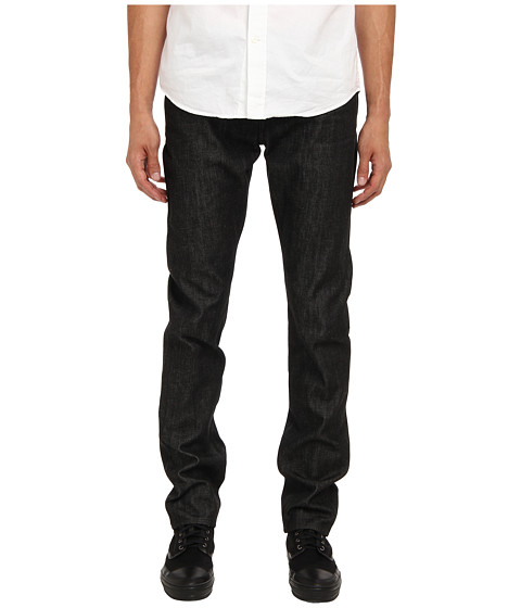 Jack Spade - Bt-02 Slim Selvage Denim (Black) Men's Jeans