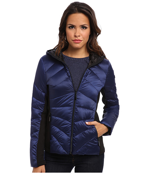 Vince Camuto - Light Weight Down G8461 (Royal Blue) Women's Coat