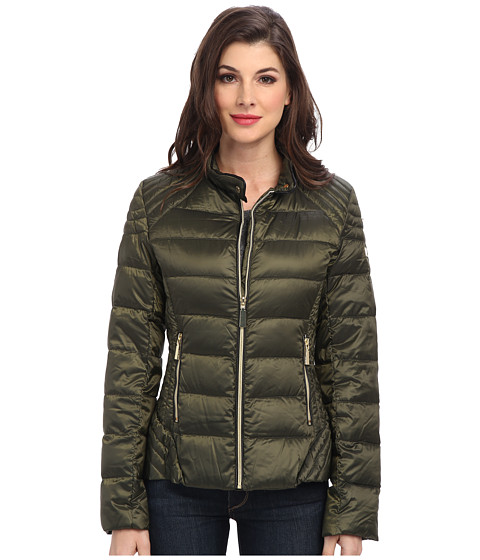 Vince Camuto - Light Weight Down G8491 (Pine Green) Women's Coat