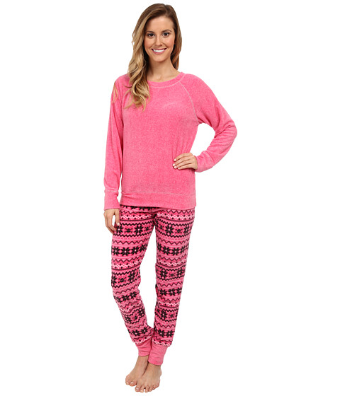 Steve Madden - Microfleece Set (Skulf) Women's Pajama Sets