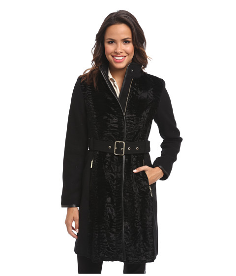 Vince Camuto - Wool G1451 (Black) Women's Coat