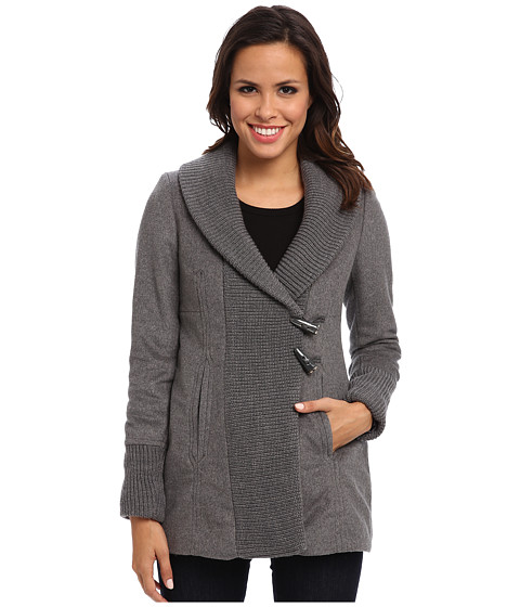 Vince Camuto - Wool G8471 (Mid Grey) Women's Sweater