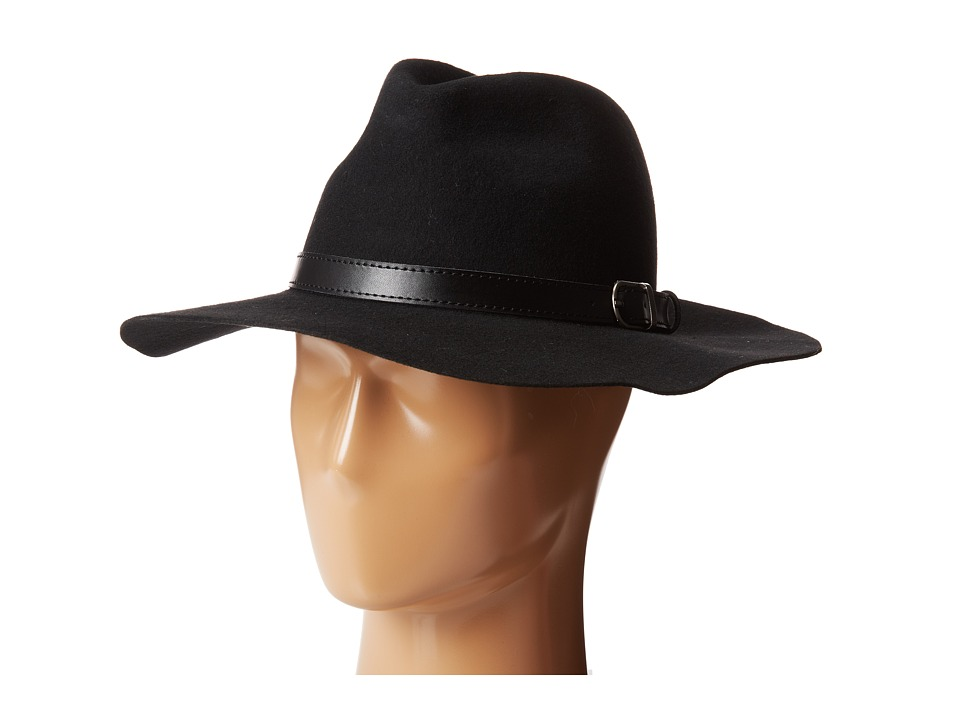 Michael Stars - Oh My Darling Wide Brim Hat (Black) Fedora Hats