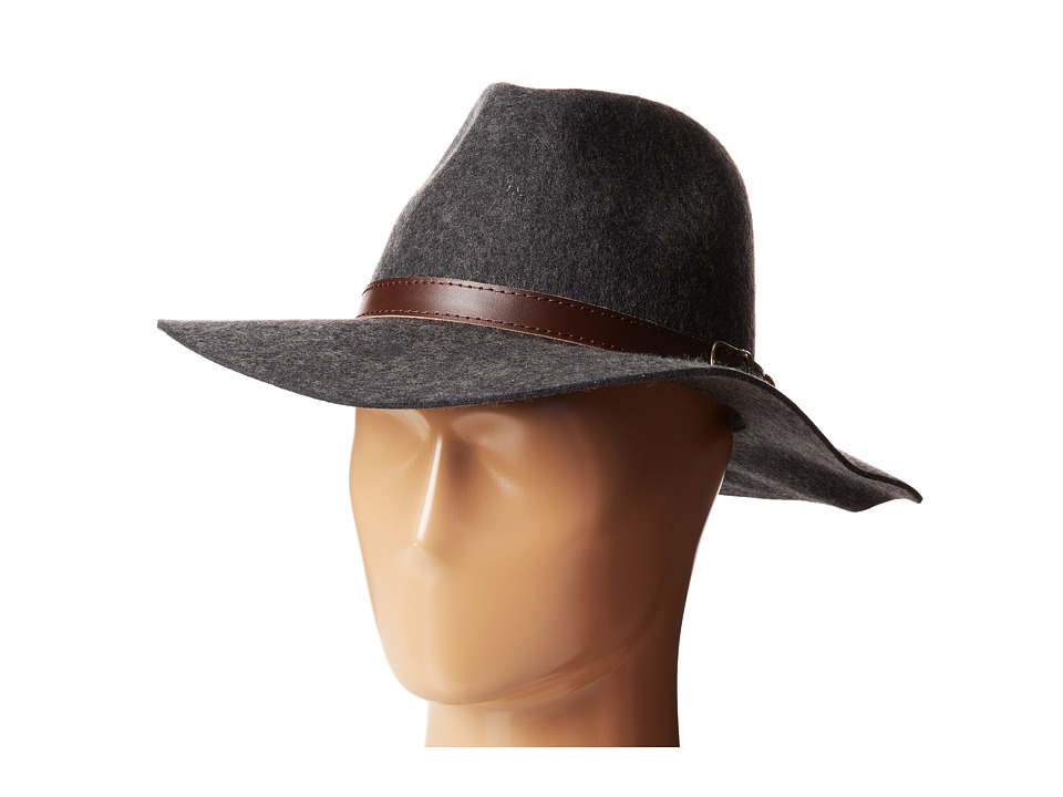 Michael Stars - Oh My Darling Wide Brim Hat (Heather Smoke) Fedora Hats