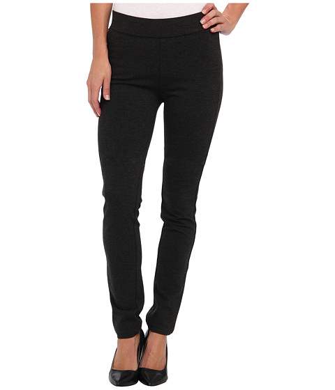 NYDJ - Jodie Pull-On Ponte Knit Legging (Charcoal Heather) Women