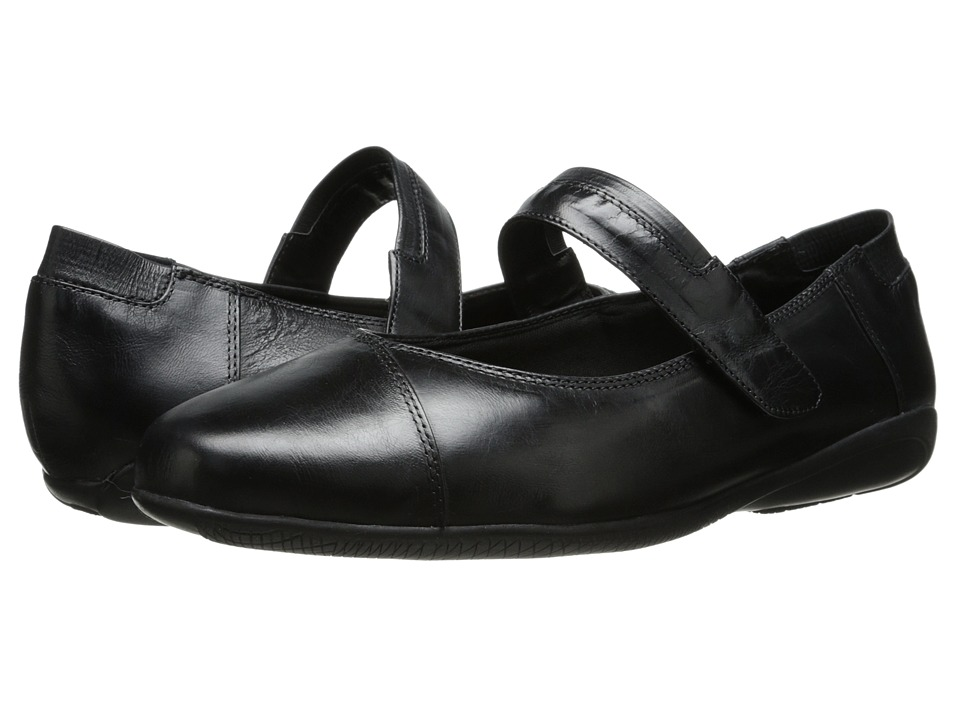 Walking Cradles - Flair (Black Waxy Wash Leather) Women