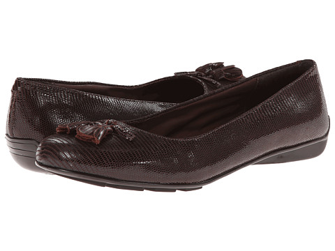 Walking Cradles - Bay (Brown Patent Lizard Print) Women