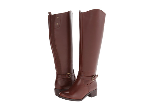 rsvp - Chester Wide Calf (Cognac) Women's Wide Shaft Boots