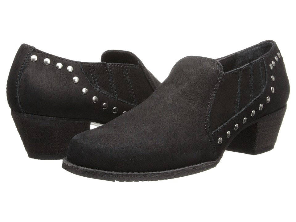 Walking Cradles - Caryn (Black Rough Out) Women