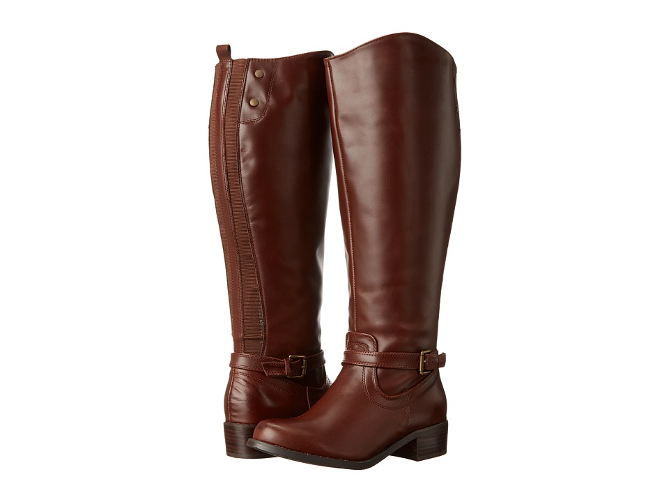 rsvp - Chester Extra Wide Calf (Cognac) Women's Wide Shaft Boots