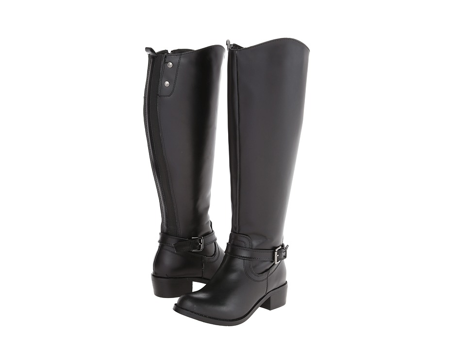 rsvp - Chester Extra Wide Calf (Black) Women's Wide Shaft Boots