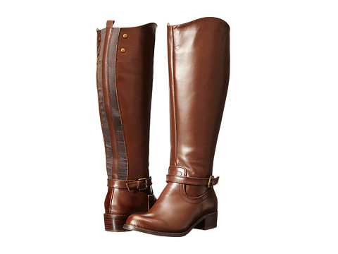 rsvp - Chester Extra Wide Calf (Cocoa) Women's Wide Shaft Boots