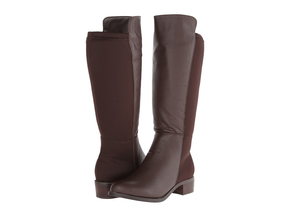 rsvp - Belmont Wide Calf (Chocolate Tumbled) Women's Boots
