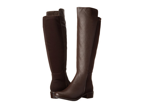 rsvp - Bristol Wide Calf (Chocolate Tumbled) Women's Dress Zip Boots