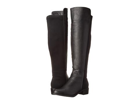 rsvp - Bristol Wide Calf (Black Tumbled) Women's Dress Zip Boots