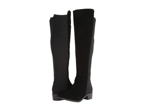 rsvp - Bristol Wide Calf (Black Suede) Women's Dress Zip Boots