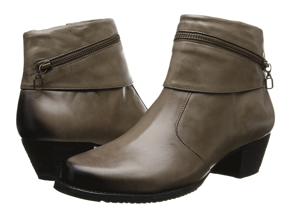 Walking Cradles - Cayley (Taupe Soft Antique) Women's Dress Boots