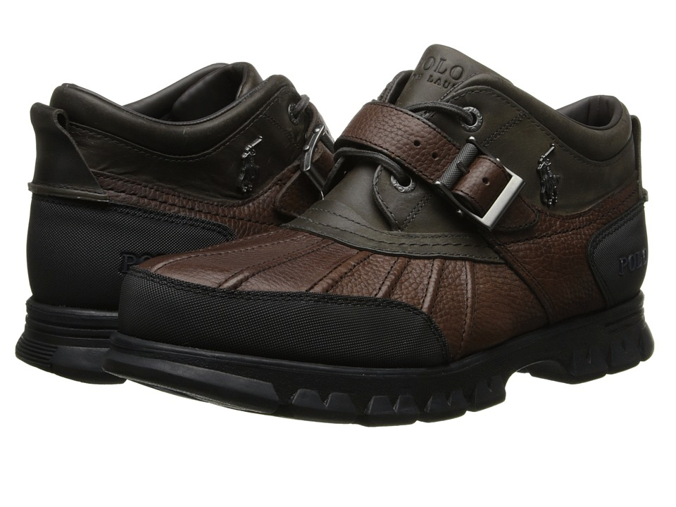 Polo Ralph Lauren - Dover III (Briarwood Pitstop/Grey Timber) Men's Lace up casual Shoes