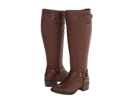 rsvp - Rylee Extra Wide Calf (Cognac) Women's Wide Shaft Boots
