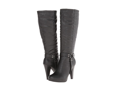 rsvp - Carmel Wide Calf (Black) Women's Wide Shaft Boots