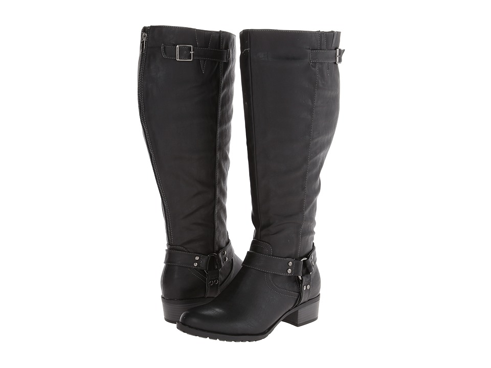 rsvp - Rylee Extra Wide Calf (Black) Women's Wide Shaft Boots