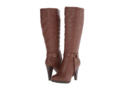 rsvp - Carmel Wide Calf (Cognac) Women's Wide Shaft Boots