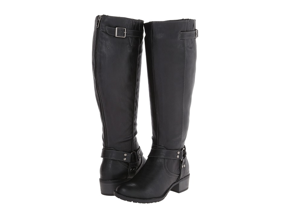 rsvp - Rylee Wide Calf (Black) Women's Wide Shaft Boots