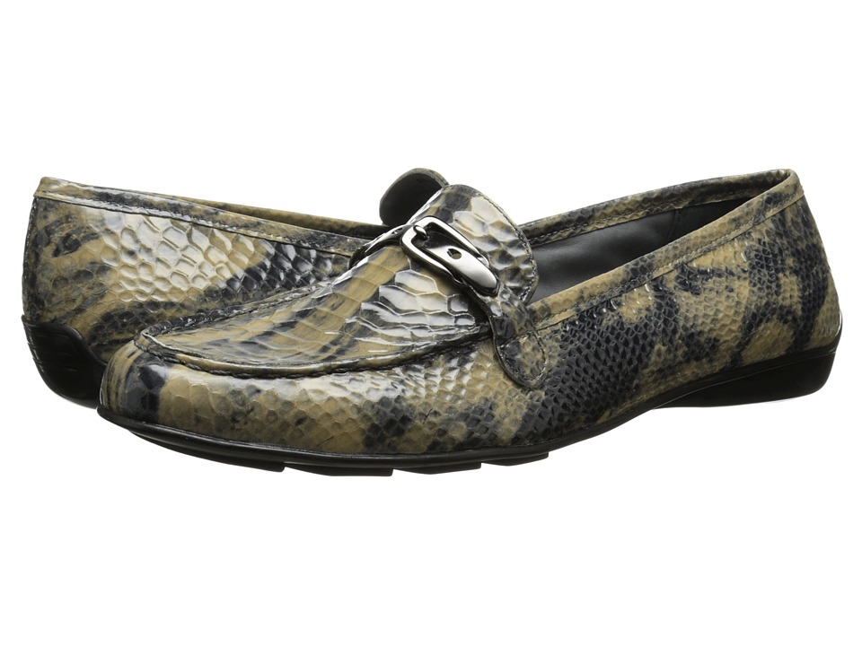 Walking Cradles - Mica (Mid Taupe Belly Snake Print) Women's Shoes
