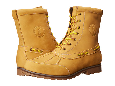 Polo Ralph Lauren - Whitsand (Wheat Nubuck) Men's Lace-up Boots
