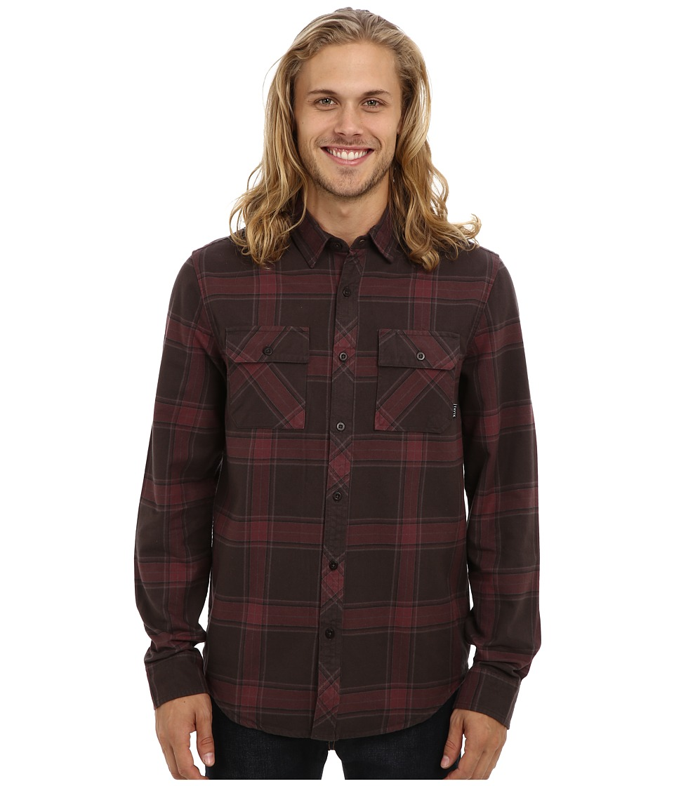 Tavik - Vincent (Raven) Men's Long Sleeve Button Up