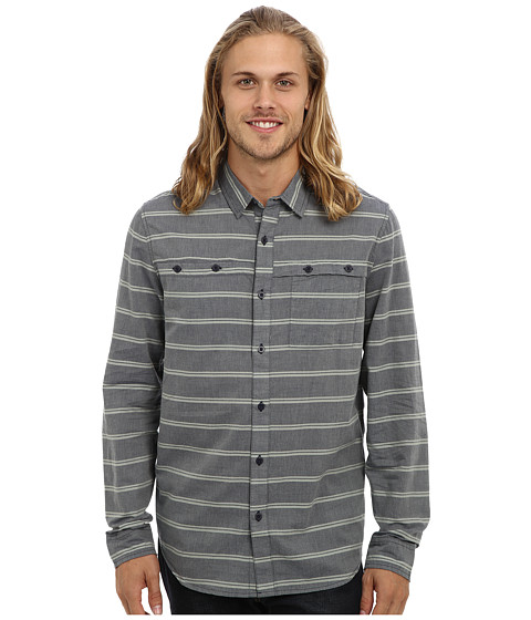 Tavik - Shin (Indigo) Men's Long Sleeve Button Up