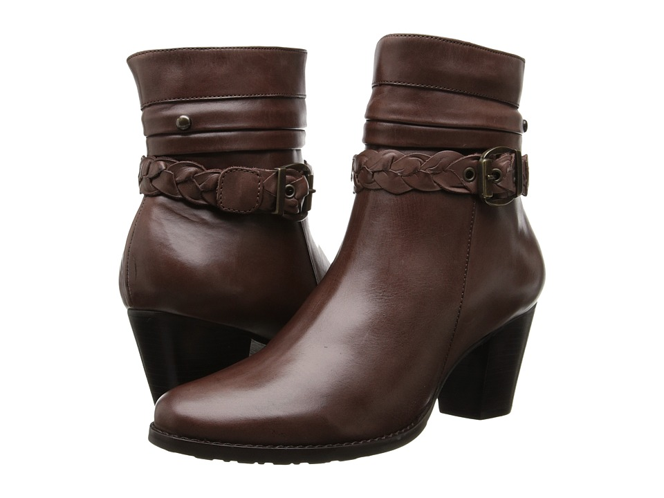 Walking Cradles - Rowan (Brown Soft Antique) Women's Dress Boots