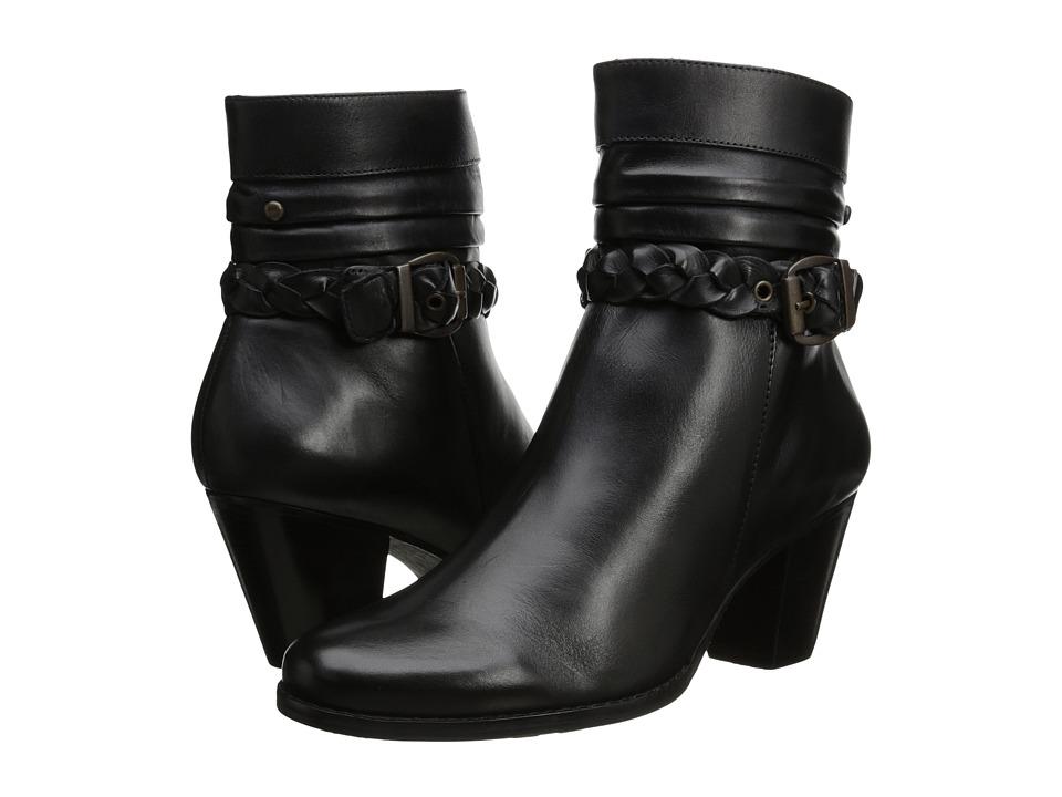 Walking Cradles - Rowan (Black Soft Antique) Women's Dress Boots