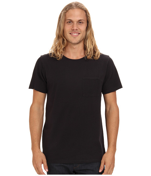 Tavik - Morton (Black) Men's Short Sleeve Pullover