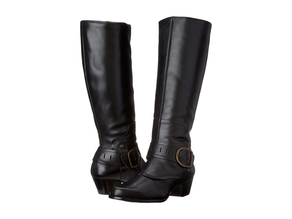 Womens Walking Cradles Clarity Boots Black Soft Antique LCD48302
