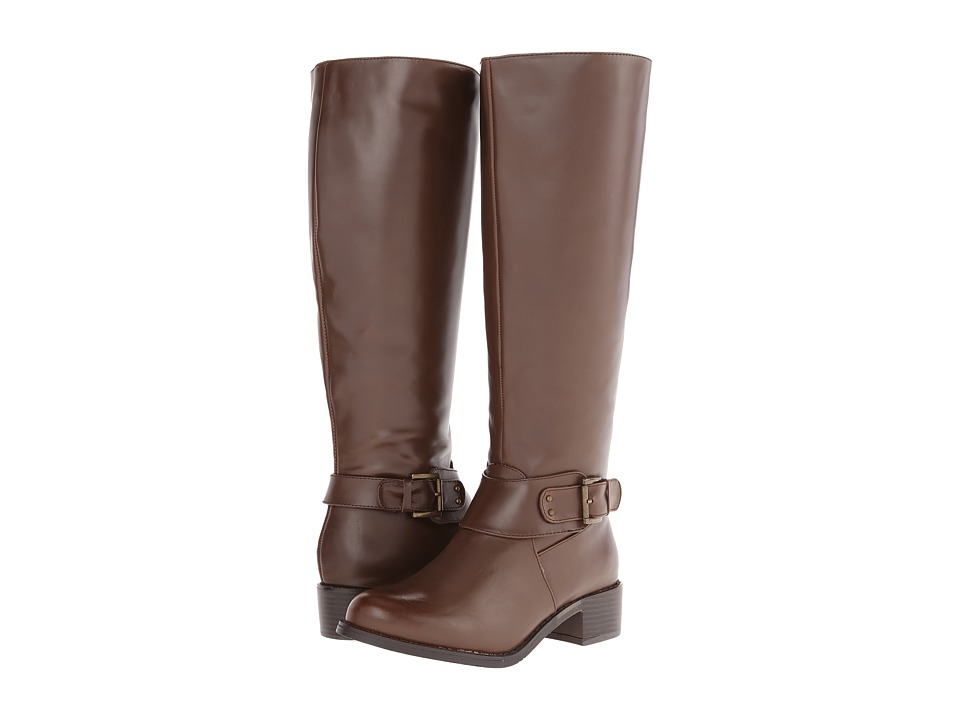rsvp - Porter Wide Calf (Chocolate) Women's Wide Shaft Boots