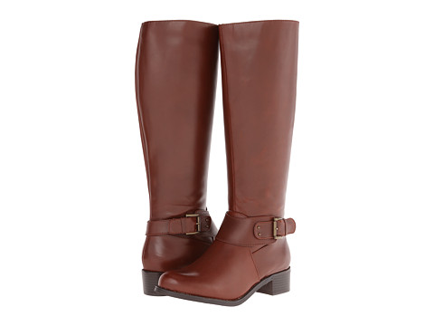 rsvp - Porter Wide Calf (Cognac) Women's Wide Shaft Boots