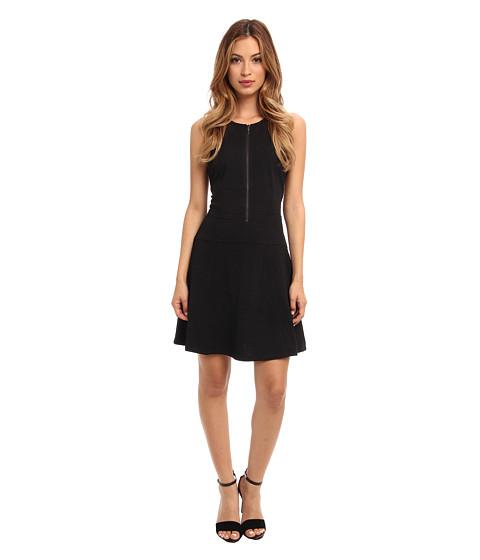 Sanctuary - Zip Flirt Dress (Black) Women's Dress