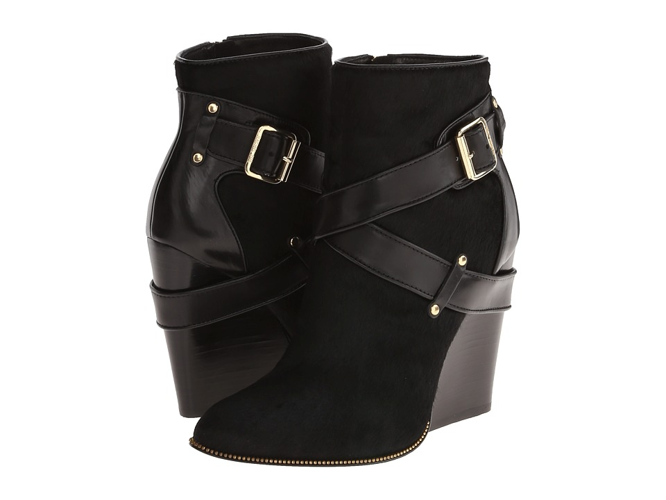 Rachel Zoe - Mak (Black Hair Calf/Baby Calf) Women