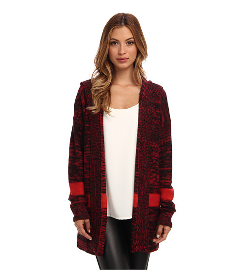 Sanctuary - Blanket Cardi (Beetroot) Women's Sweater