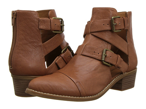 Nine West - Waterloo (Cognac Leather) Women's Boots