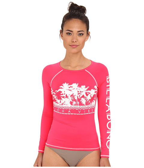 Billabong - Vibe This Rashguard (Red Hot) Women