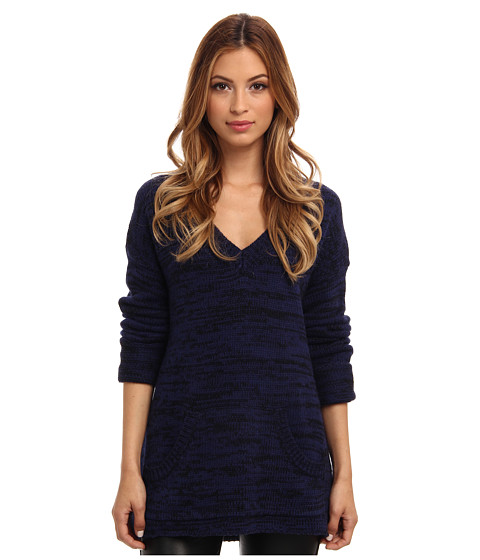 Sanctuary - Campus Sweater (Blue Depth) Women's Sweater
