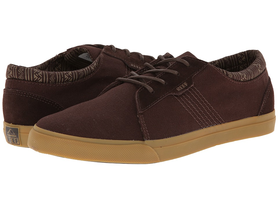Reef - Ridge (Brown/Gum) Men's Lace up casual Shoes