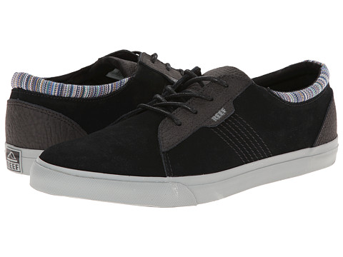 Reef - Ridge Premium (Black Flannel) Men's Shoes